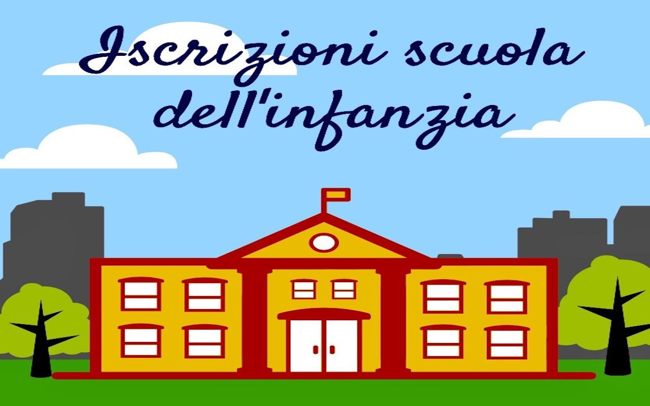 Iscrizioni Scuola dell'Infanzia a.s.2021/2022